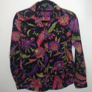 Ralph Lauren Button-down Petite Medium PM Shirt